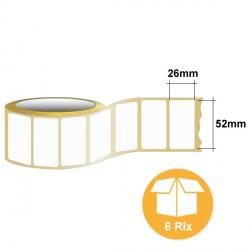 Etiquettes 52 x 26 mm - GTL5226D01PM
