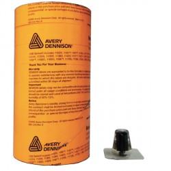 ETIQUETTES 1136 Fluo Orange 20 x 16 mm