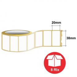 GTL3820D01PMUL étiquettes 38 x 20 mm - Monarch Universelle
