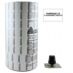 ETIQUETTES 1136 FABRIQUE LE / A CONSOMMER JUSQU'AU 20 x 16 mm